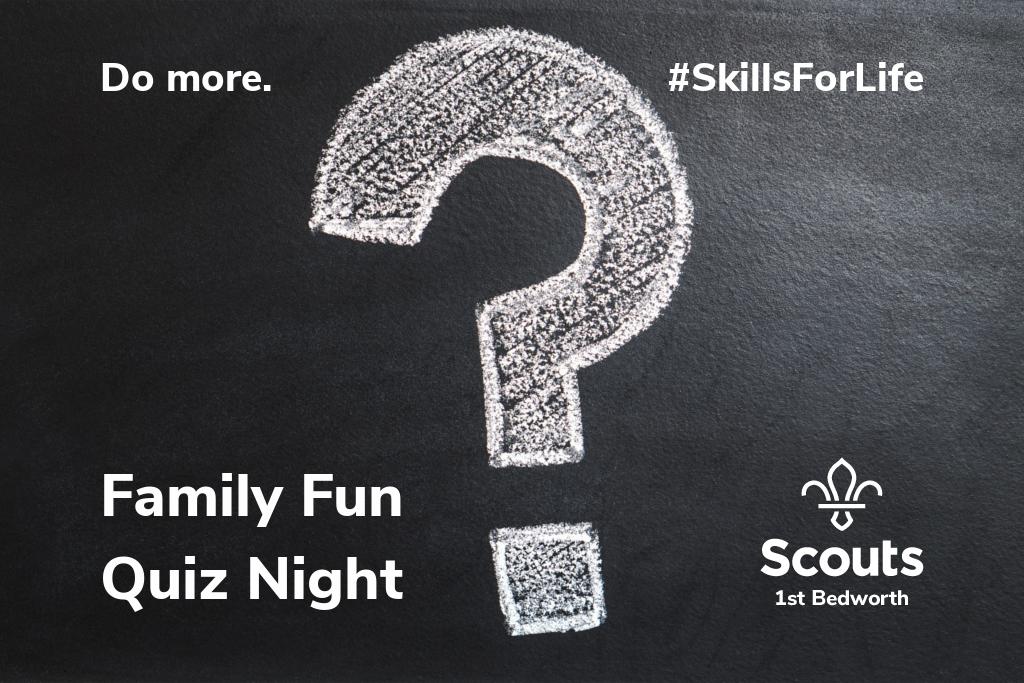Family Fun Quiz Night 2019